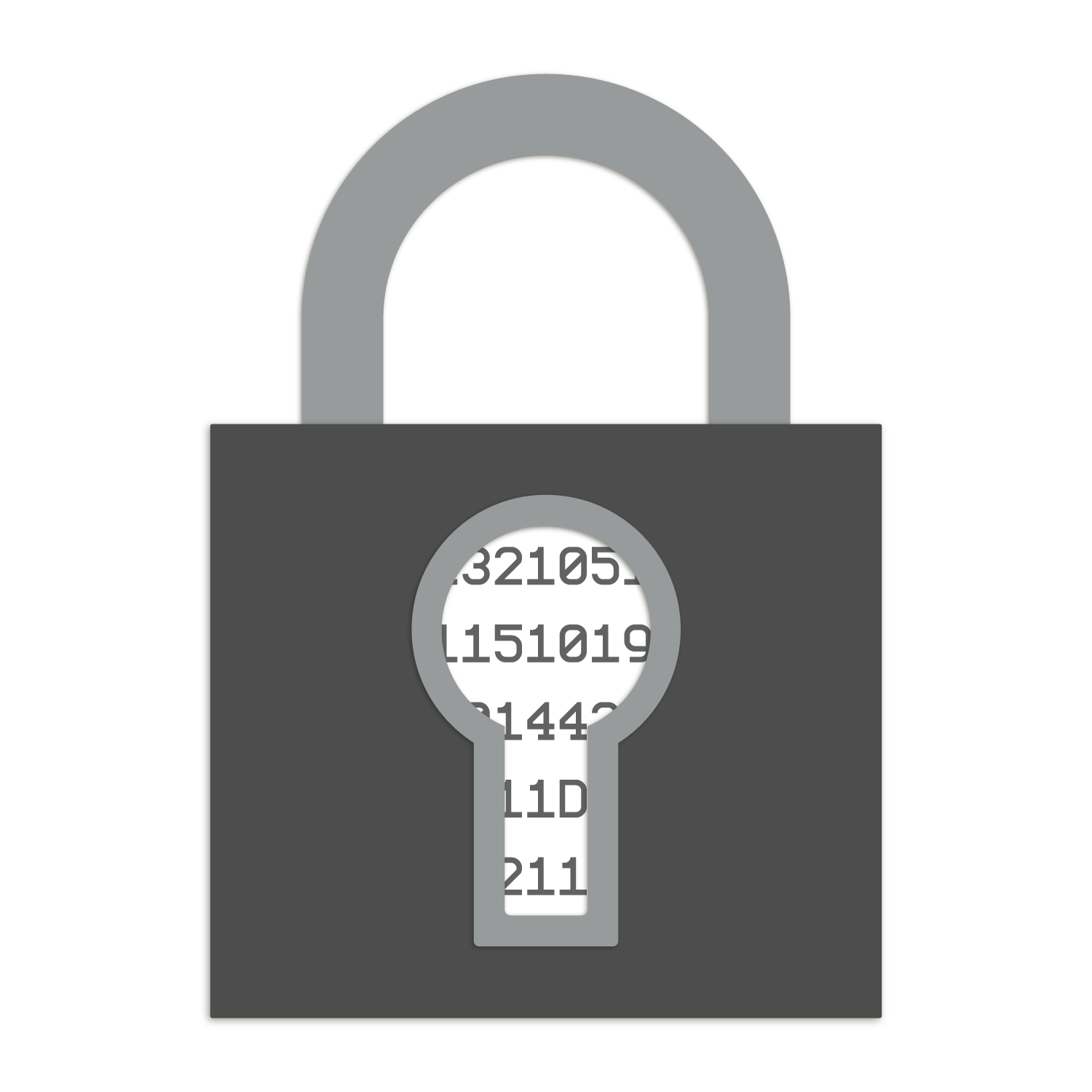 Encrypted lock